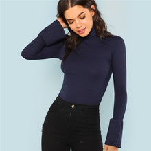 Bell Cuff Long Sleeve Top