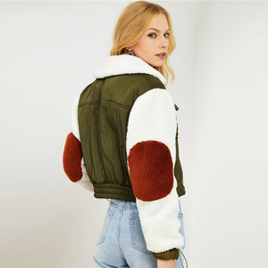 Multi-color Faux Jacket