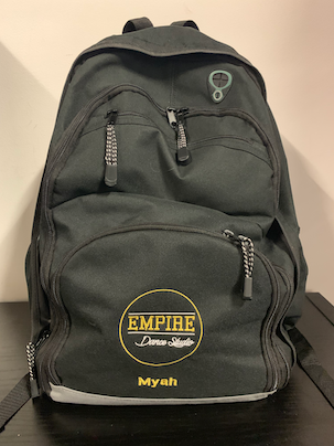 "EMPIRE ""PERSONALISED"" BACKPACK"
