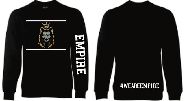 "EMPIRE ""WOLFPACK"" CREW NECK JUMPER"