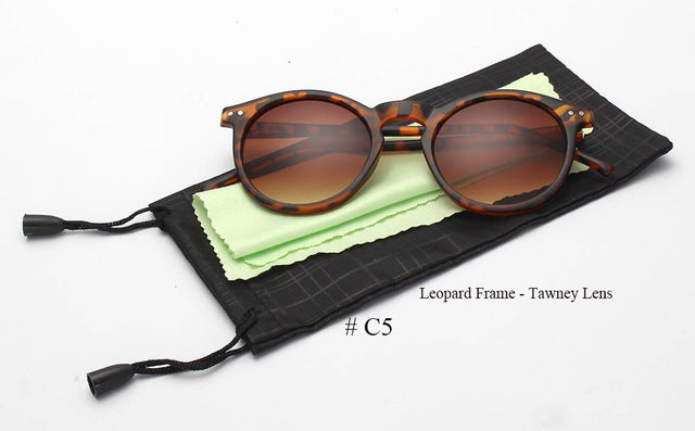 Women Multicolour Round Sunglass - Passionofcreation