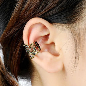 ES10009 Stud Earrings For Women Feather Tassel Cat Star Spider Brincos Ear Cuff Fashion Jewelry 2018 - Passionofcreation