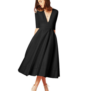Women Vintage Long Dresses - Passionofcreation