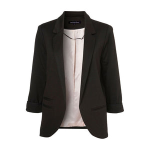 Autumn Slim Fit Women Blazer - Passionofcreation