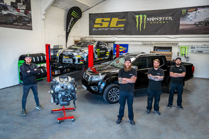 Baggsy and SB Motorsports Unveils the First Ever GT-R Powered Nissan Navara
