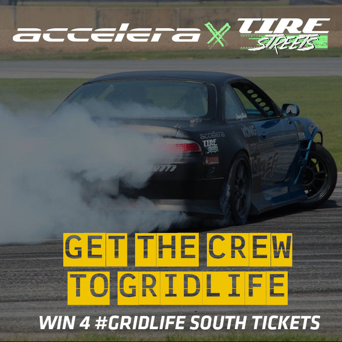 Win 4 #Gridlife South Tickets!