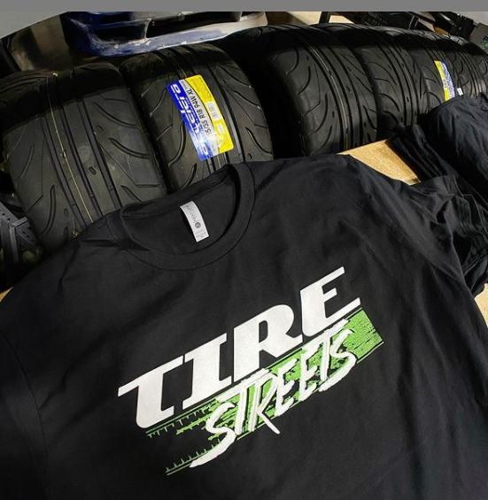 Tire Streets Branded T-Shirts