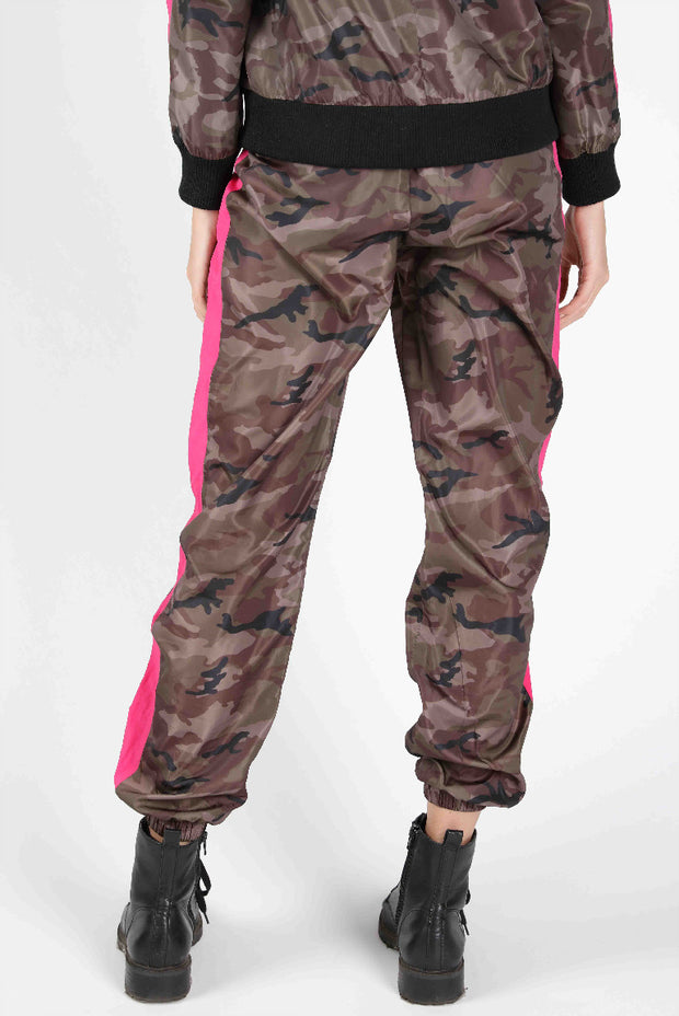 CAMO SIDE STRIPE JOGGER