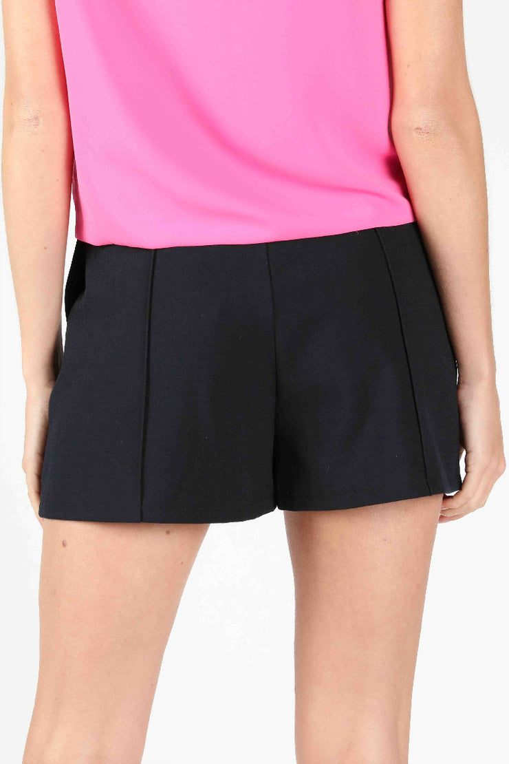 BUTTON FRONT TAILORED SHORT
