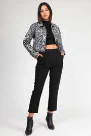 The Fiona Cropped Jacket