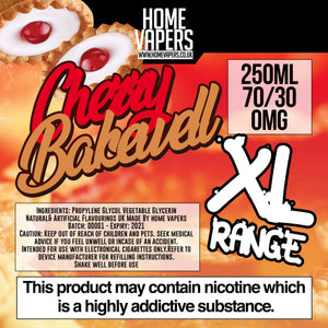 Cherry Bakewell XL - 250ml By Home Vapers