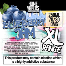 Blueberry Jam XL - 250ml By Home Vapers - Home Vapers