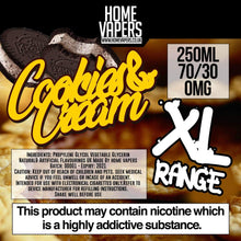 Cookies And Cream XL - 250ml By Home Vapers - Home Vapers