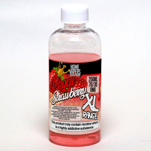 Royal Strawberry XL - 250ml By Home Vapers - Home Vapers