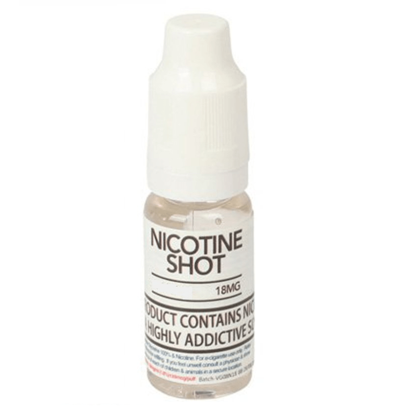 Nicotine Shot - 10ml 18mg - Home Vapers