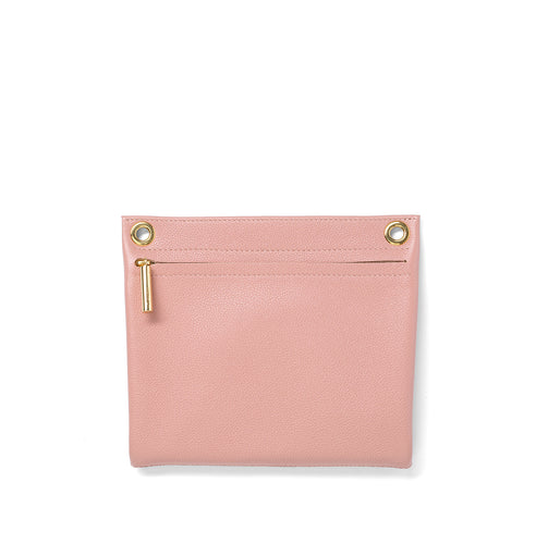 Blush Pebble Leather Assemblage Pouch