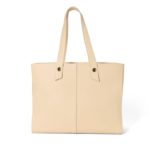 Handmade sable leather Fat tote