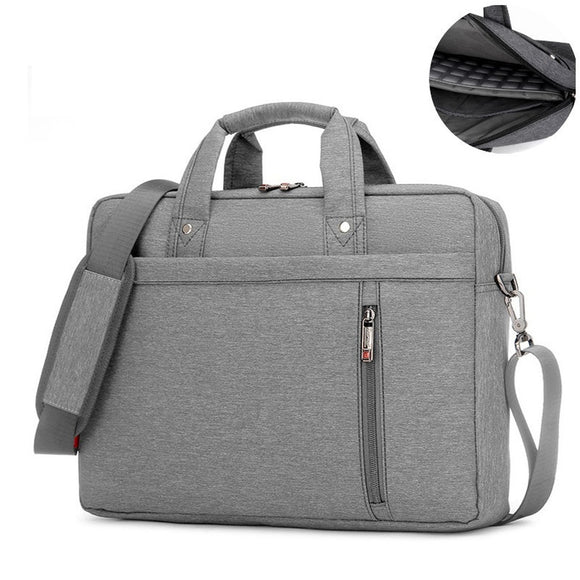 13 14 15 17 Inch Laptop Bag Briefcase Shoulder Messenger Bag Water Repellent Laptop Bag Satchel Tablet Bussiness Carrying Handba