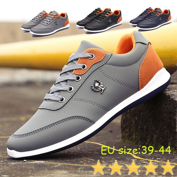 2017 Autumn New Men's Shoes British Tide Male Lace Casual Shoes Fashion Sports Men's Board Shoes