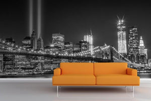 3D Wallpaper  Famous city for living room