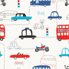 Cartoon Transportation  Wall Paper For Kids