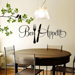 Art Sticker Restaurant Kitchen  Home Decor Waterproof Wallpaper