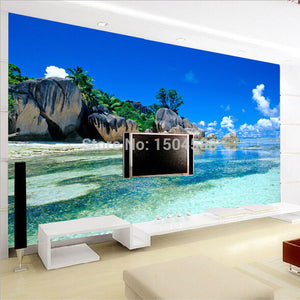 Custom Mural Nature Scenery Photo Wallpaper Living Room 3D Wallpaper