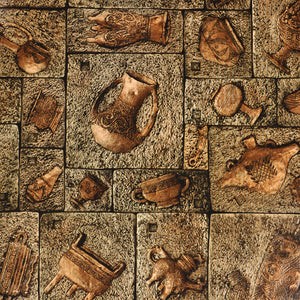 Stone Age Style Wallpapers Vintage Brick Backgrounds Vinyl 3D