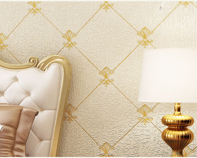 High Quality Stereo Relief Wallpaper Embossed