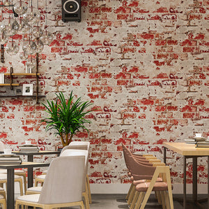 3D Brick Wallpaper Modern