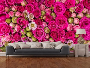 Modern red rose,3D photo wallpaper for living room
