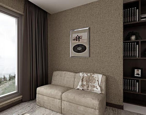 Wallpaper Modern Linen Texture Wallpaper 3D Bedroom