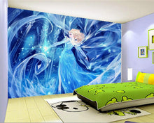 3D murals,Cartoons Girls wallpapers