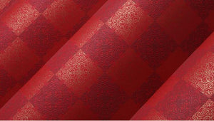 Modern Minimalist 3D Plaid Wallpaper Non-woven Fabric