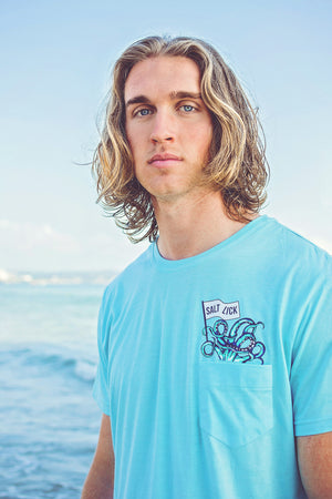 MENS TEE'S - SALT LICK OCTOPUS