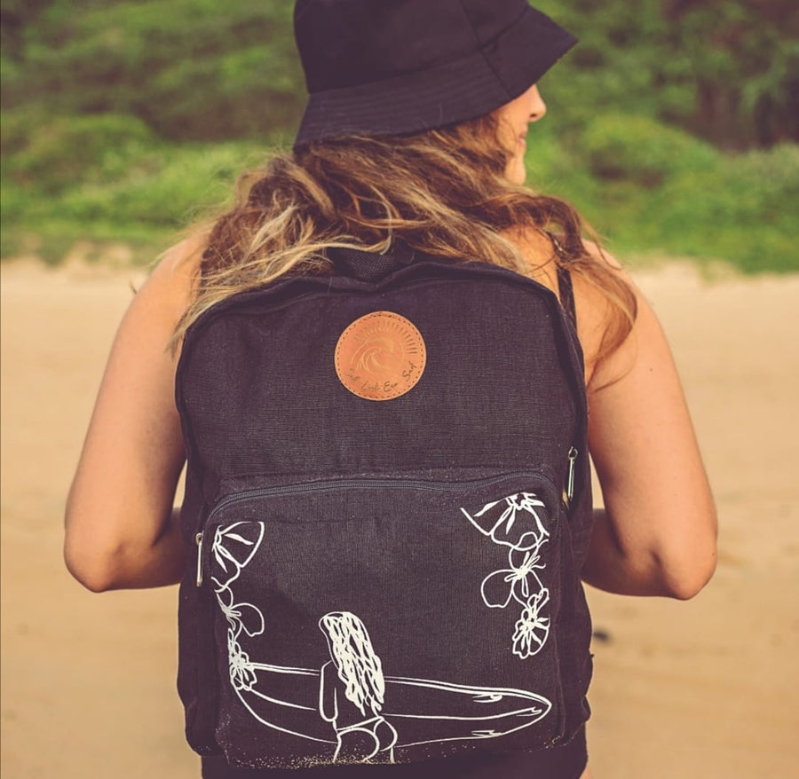Cheeky summer 100% HEMP Eco Back Pack