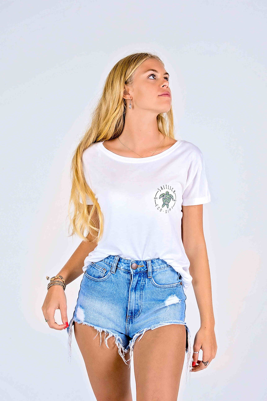 LADIES TEE - SALT LICK ECO POCKET