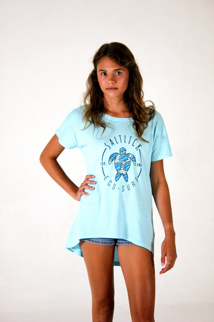 LADIES TEE - SALT LICK TURTLE