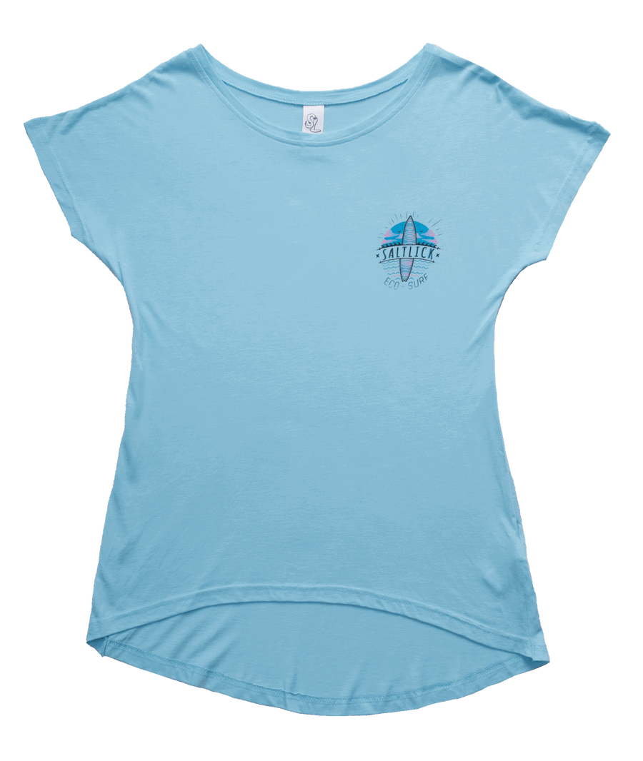 LADIES TEE - SALT LICK SURFBOARD