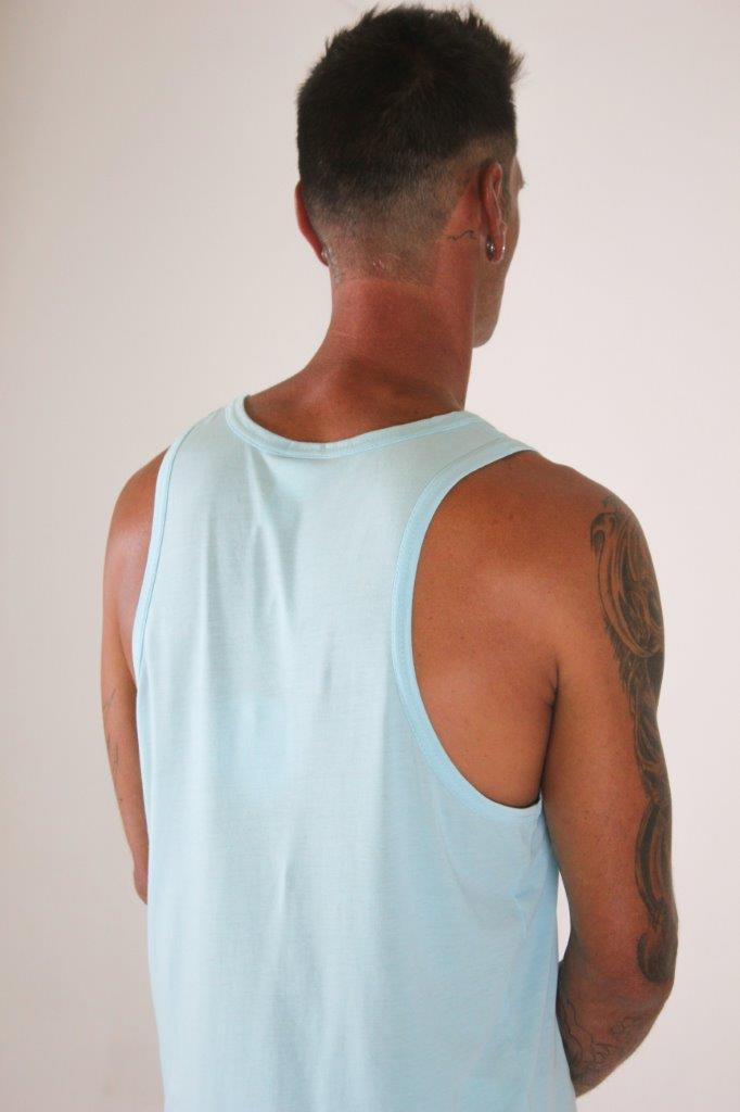 MENS BOUND VEST - SALT LICK TURTLE PRINT