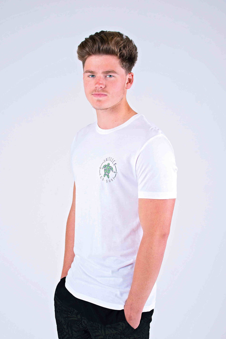 MENS TEE - SALT LICK ECO POCKET