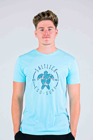 MENS TEE - SALT LICK TURTLE PRINT