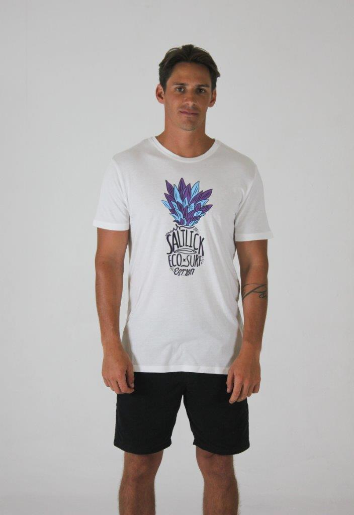MENS TEE - SALT LICK PURPLE PINEAPPLE
