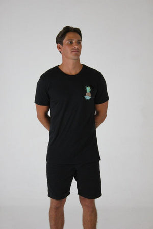 MENS TEE - PINEAPPLE POCKET