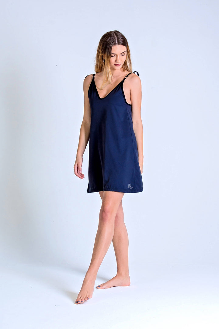 LADIES DRESS - CHANGING TIDES (BLACK)
