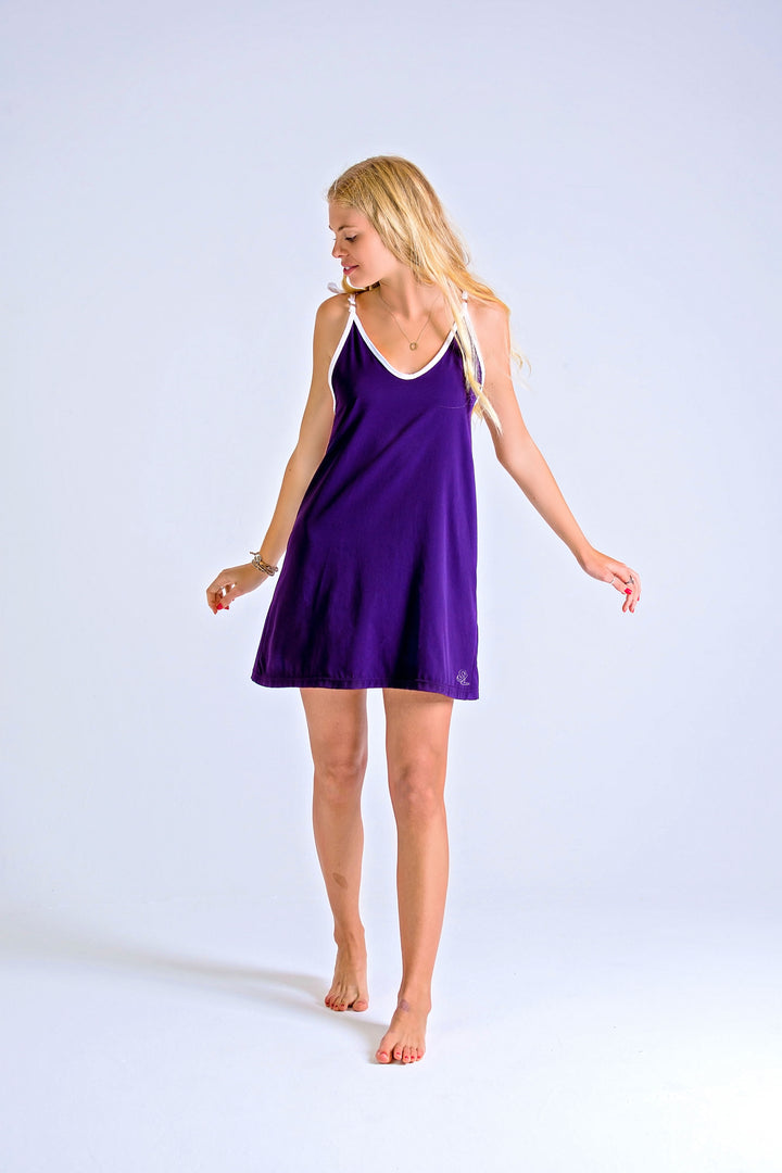 LADIES DRESS - CHANGING TIDES (PURPLE)