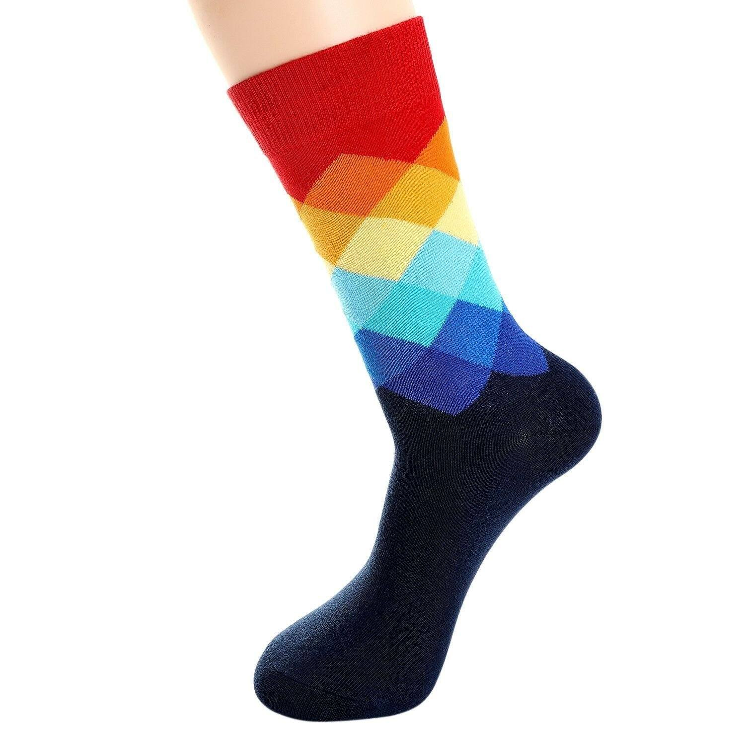 b9048362d3ec8 Click to enlarge. Home 6 Pairs Women's Argyle Pattern Socks Holiday Fashion  Multi ...