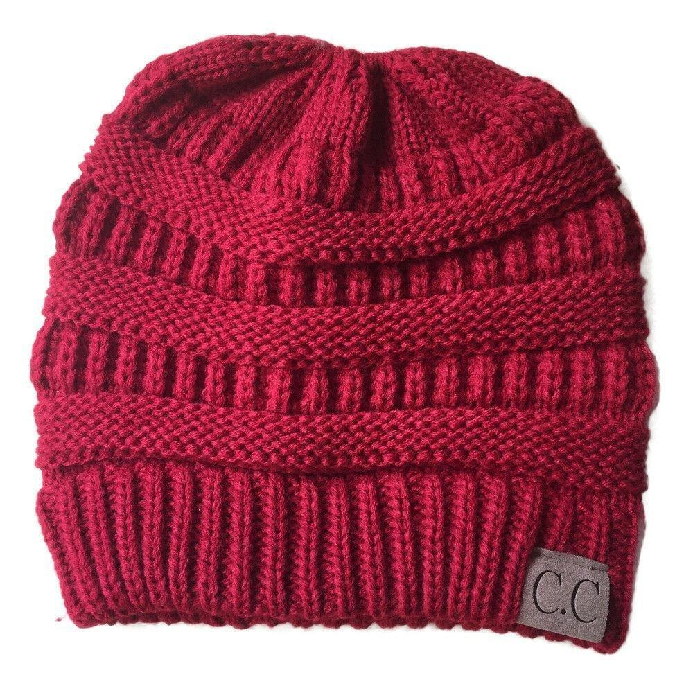 e831e1502ed7c Click to enlarge. Home Women Bubble Knit Slouchy Baggy Beanie Oversize  Winter Hat ...
