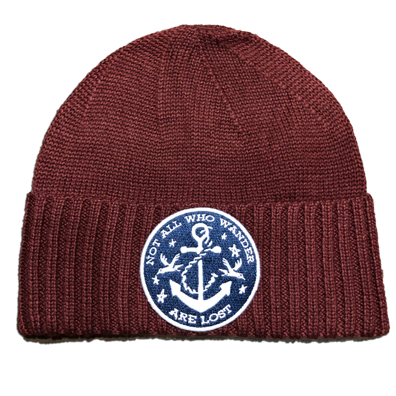 Knit Sailor Cap - Not All Who Wander