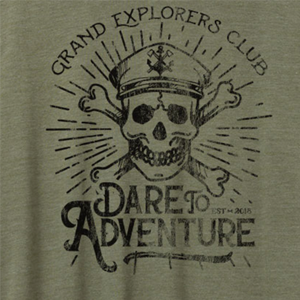 Vintage Jersey Crew T-Shirt - Grand Explorers Club